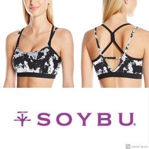 Soybu Levity Sports Bra Shattered Yoga Active L XL